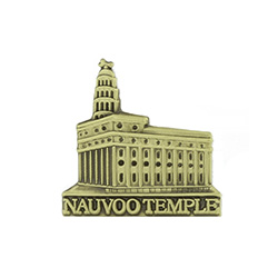 Nauvoo Temple Tie Pin - Gold