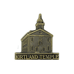 Kirtland Temple Tie Pin - Gold