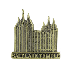 Salt Lake Temple Tie Pin - Gold