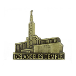 Los Angeles Temple Tie Pin - Gold