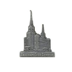 Brigham City Temple Tie Pin - Silver