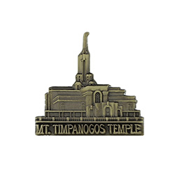 Mt. Timpanogos Temple Tie Pin - Gold