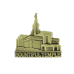 Bountiful Temple Tie Pin - Gold