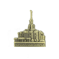 Payson Temple Tie Pin - Gold