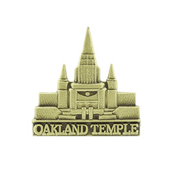 Oakland Temple Tie Pin - Gold