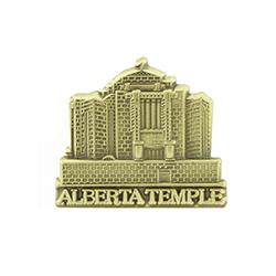 Alberta Temple Tie Pin - Gold
