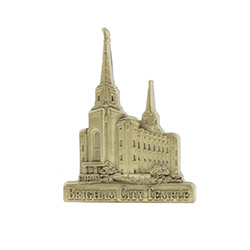 Brigham City Temple Tie Pin - Gold