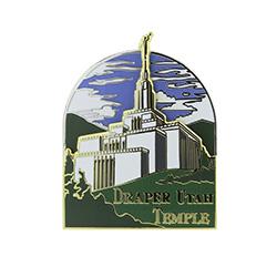 Draper Temple Pin