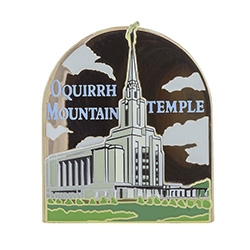 Oquirrh Mountain Temple Pin