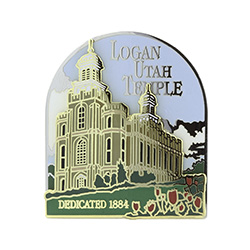 Logan Temple Pin