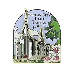 Brigham City Temple Pin