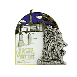 Winter Quarters Nebraska Temple Pin winter quarters pin, NEBRASKA pin, temple pin