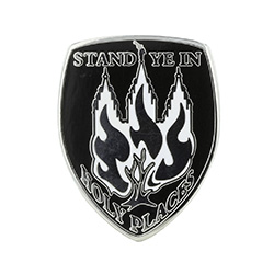 Stand Ye In Holy Places Pin