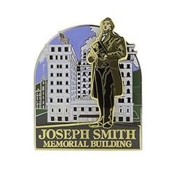 Joseph Smith Memorial Building Pin joseph smith memorial, joseph smith pin, joseph smith memorial building