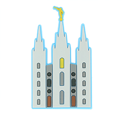Salt Lake Temple Magnet - LDP-MGNSLC