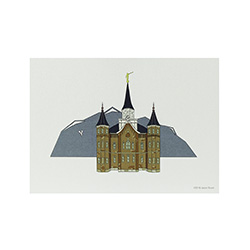 Provo City Center Temple Print - 5x7
