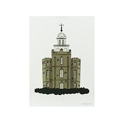 Logan Temple Print - 5x7