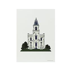 Manti Temple Print - 5x7
