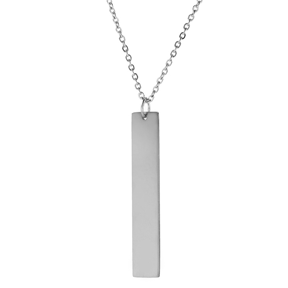 Customizable Vertical Bar Necklace - LDP-VBN