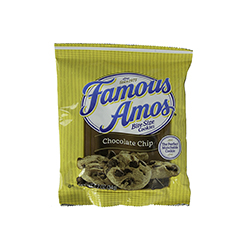 Famous Amos Bite Size Cookies -  1.2 oz. bag
