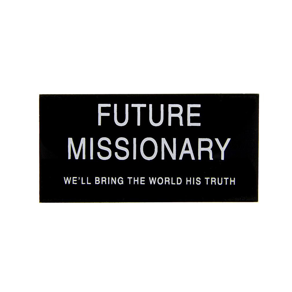 image regarding Future Missionary Tag Printable known as Potential Missionary Reputation Tag