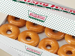 Krispy Kreme Dozen Donuts missionary donuts, mtc delivery, krispy creme, dozen donuts