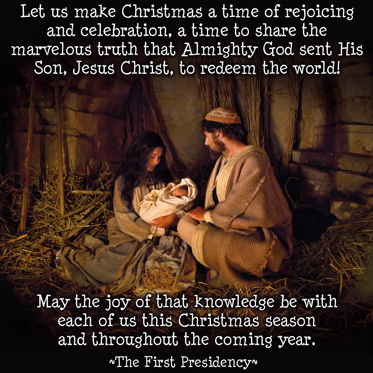 First Presidency Christmas Message