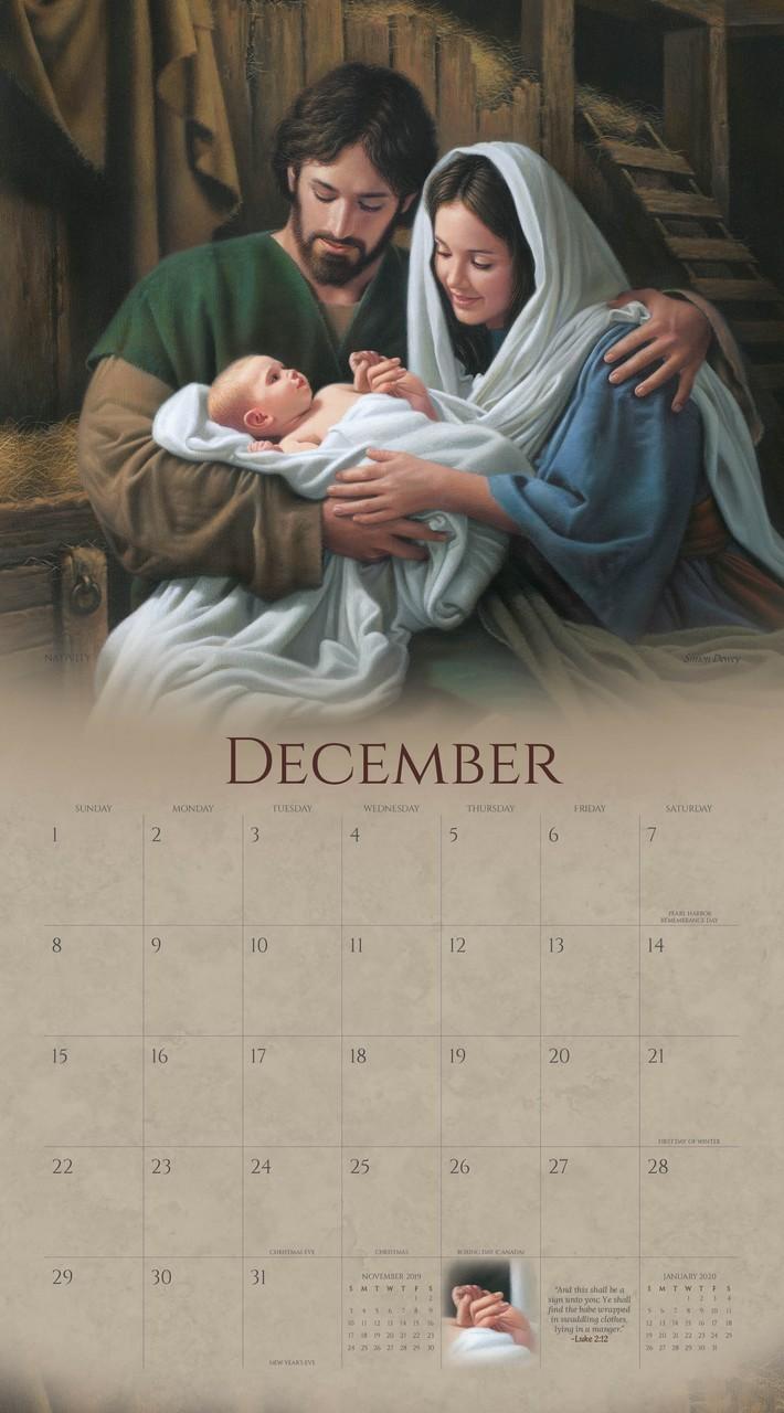 2019 Follow Him Calendar - Simon Dewey - AFA-SDCAL2019