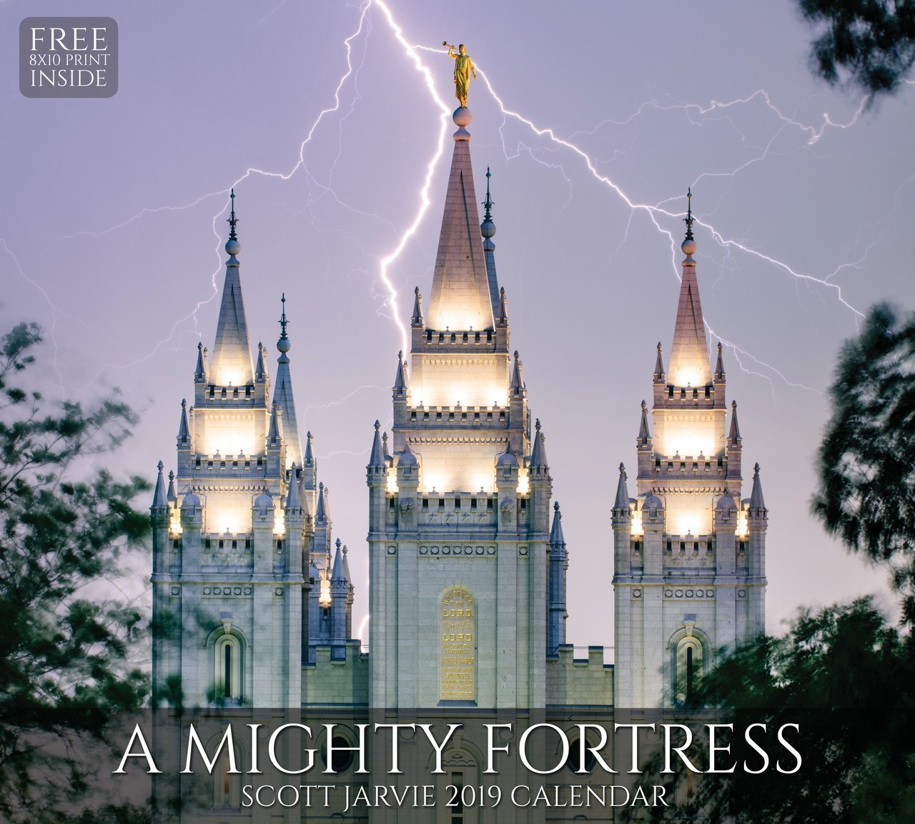 2019 A Mighty Fortress Temple Calendar - Scott Jarvie