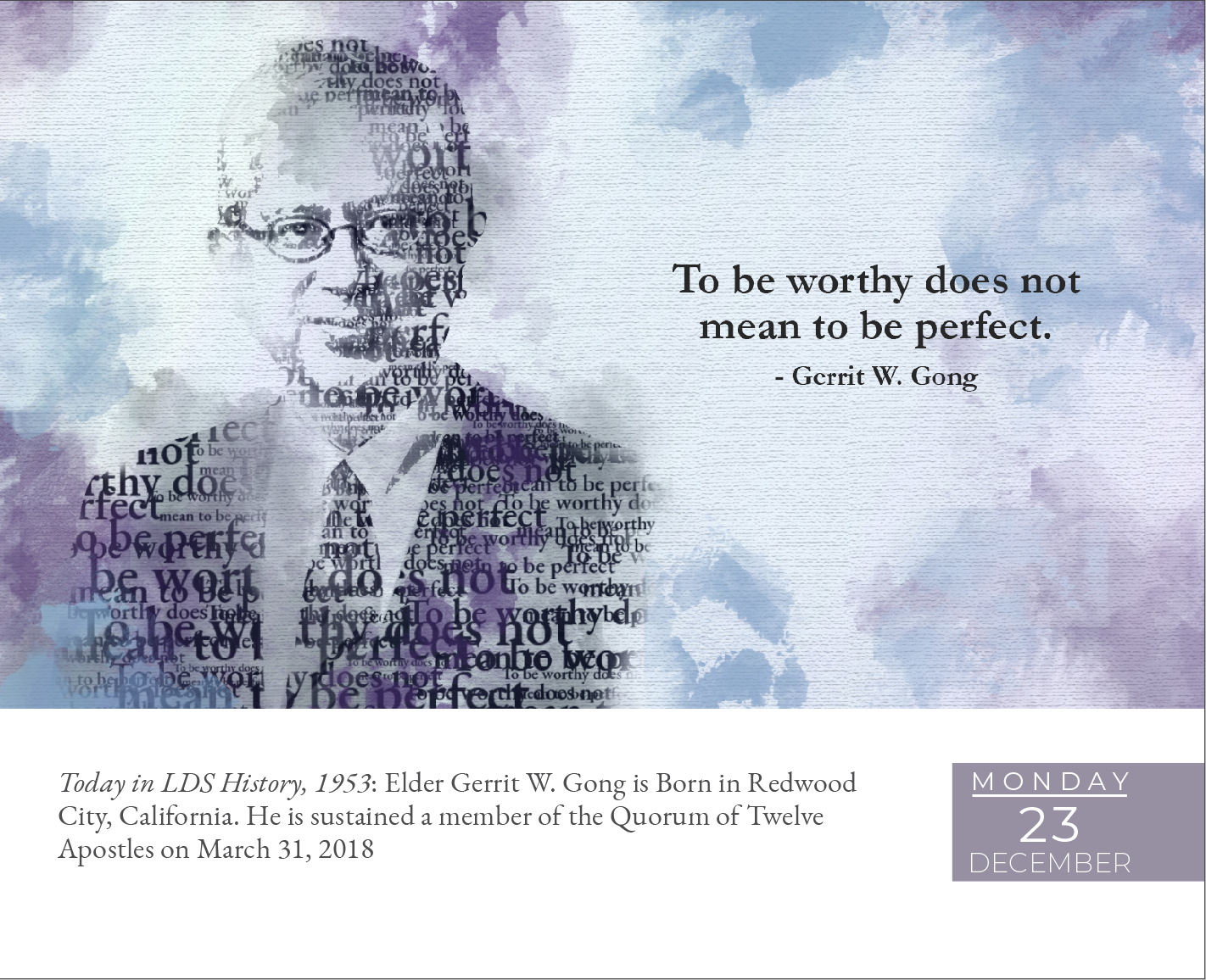Daily Inspirations - 2019 LDS Day-to-Day Calendar - LDP-2019DTD