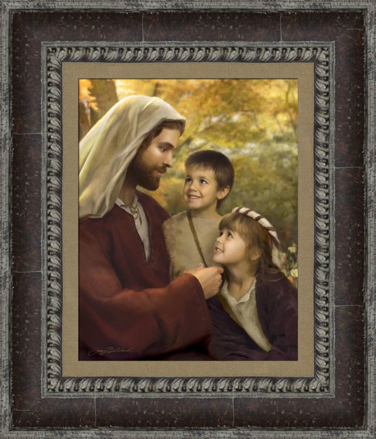 I Feel My Savior's Love - Framed - D-AFA-IFMSL