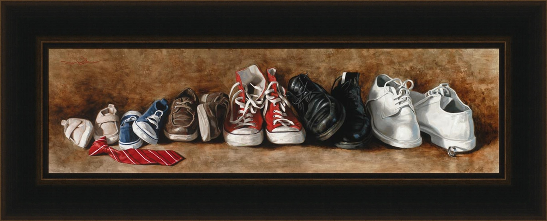 Ponder the Path of Thy Feet - Framed - D-AFA-PPTF