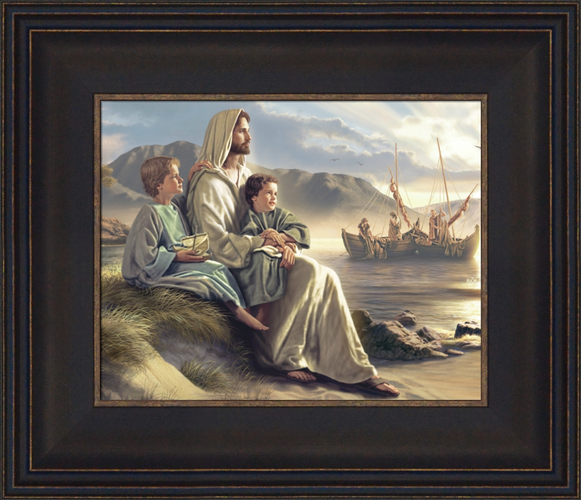 Men Of Galilee - Framed - D-AFA-SD-MOG