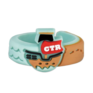 Adjustable Pirate CTR Ring - X-RM-JRY304