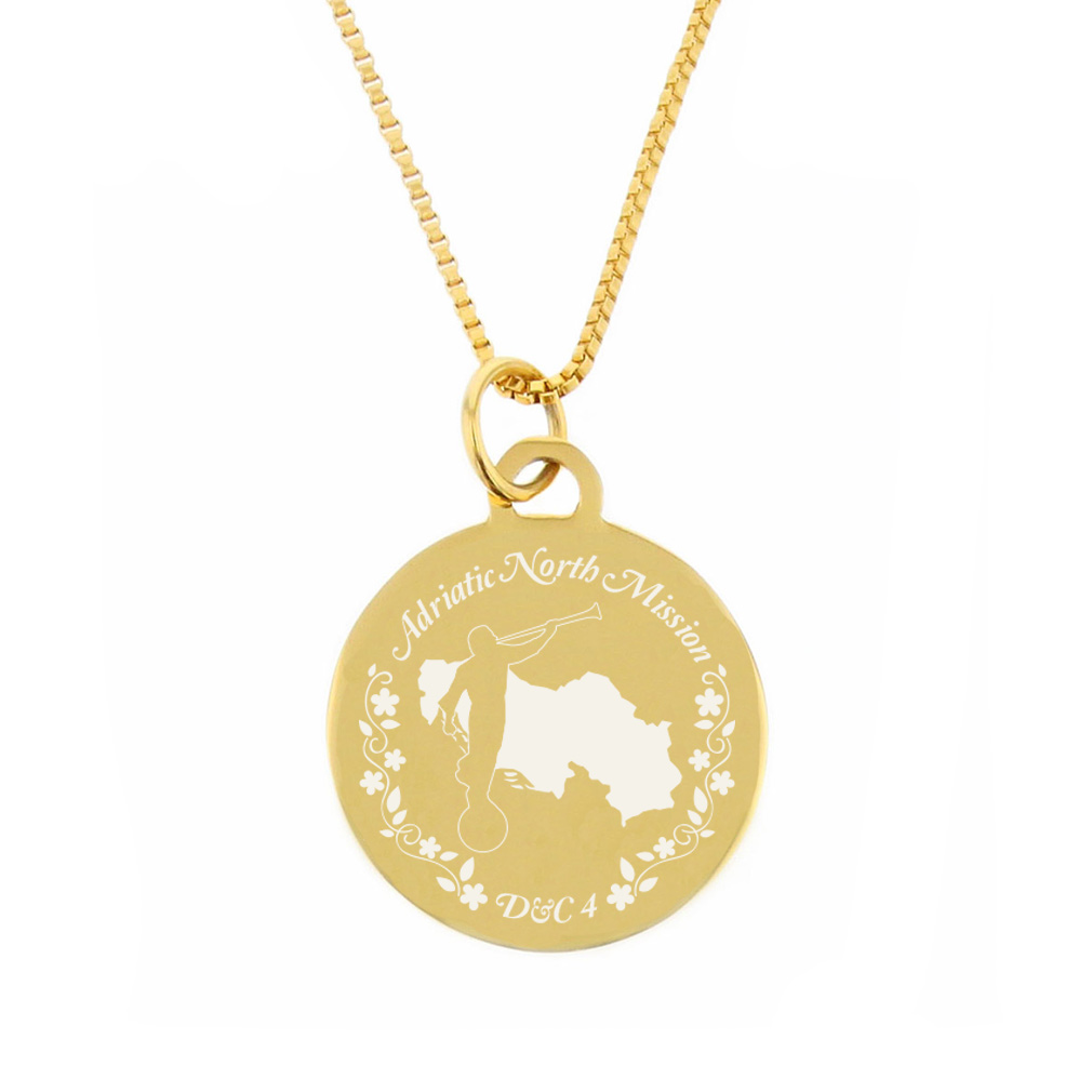 Adriatic Mission Necklace - Silver/Gold - LDP-CPN90