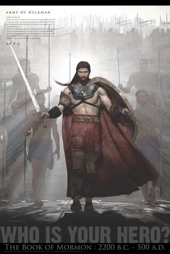 army of helaman poster in real hero posters ldsbookstore com rhp