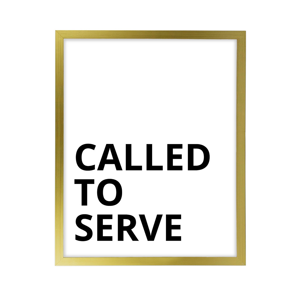 Called to Serve LDS Quote Wall Art - Modern - LDP-ART-QUOTE-CTS