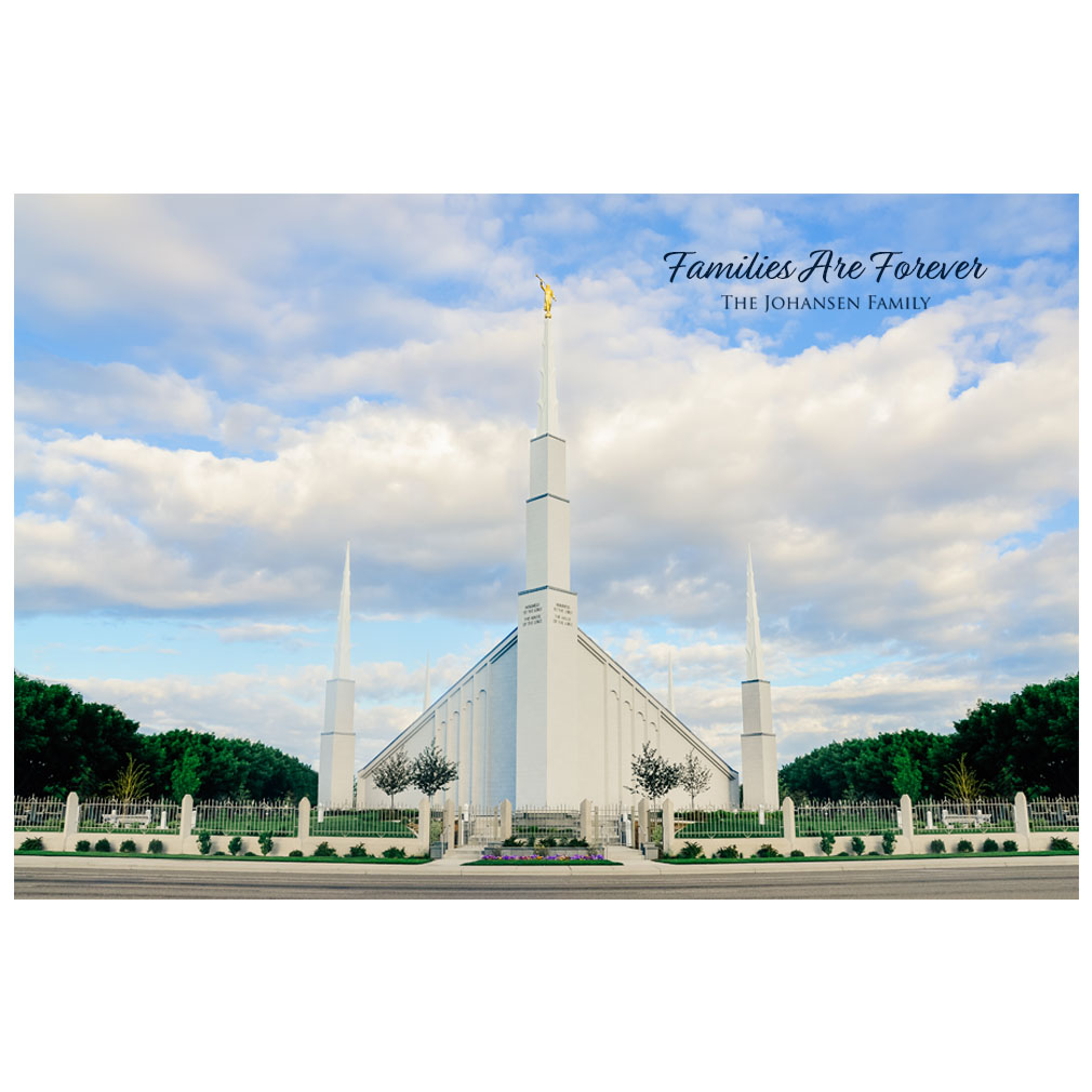 Boise Temple - Clear Day - LDP-ART-BOISE-CLEAR-DAY