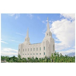 Brigham City Temple - Clear Day