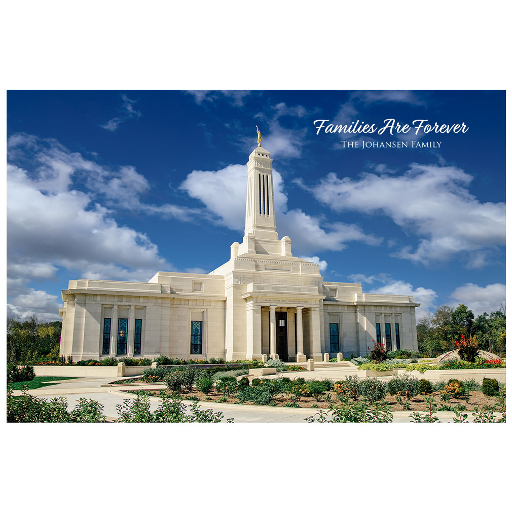 Indianapolis Temple - Summer Light - LDP-ART-INDY-SUMMER-LIGHT