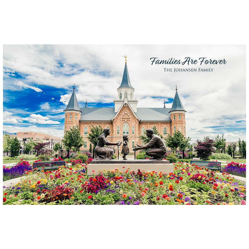 Provo City Center Temple - Summer Bouquet - LDP-ART-PCC-SUMMERBOUQUET