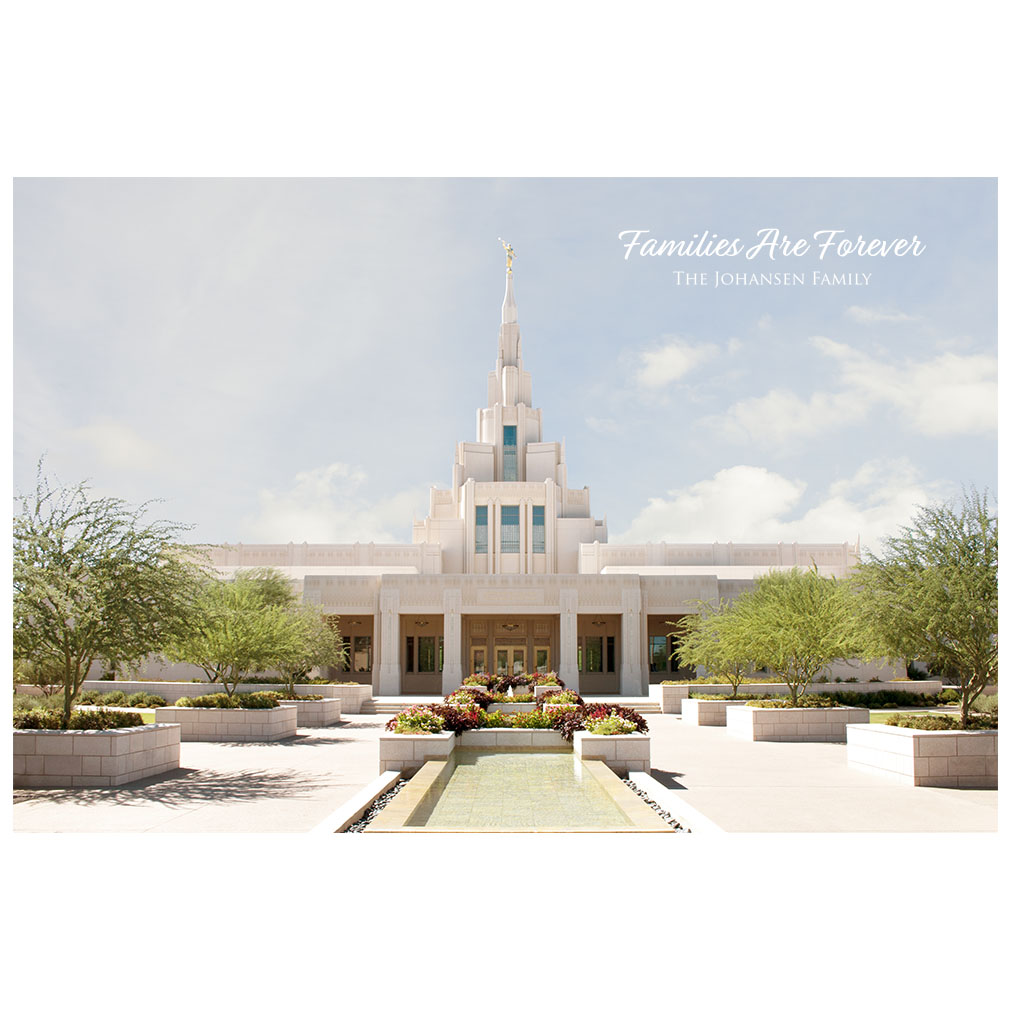 Phoenix Temple - Clear Day - LDP-ART-PHNX-CLEAR-DAY