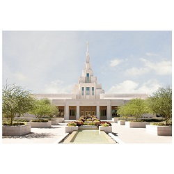 Phoenix Temple - Clear Day Framed Phoenix Temple Art, Phoenix Temple Photography, lds temple photography, fine art lds temples, lds temple art, framed lds temples, Phoenix Temple photos, Phoenix Temple photography