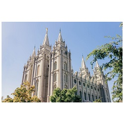 Salt Lake City Temple - Summer Day