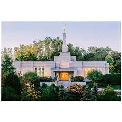 St. Paul Temple - Summer Forest Framed St. Paul Minnesota Temple Art, St. Paul Minnesota Temple Photography, lds temple photography, fine art lds temples, lds temple art, framed lds temples, St. Paul Minnesota photos, St. Paul Minnesota photography