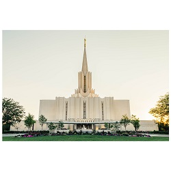 Jordan River Temple - Golden Light