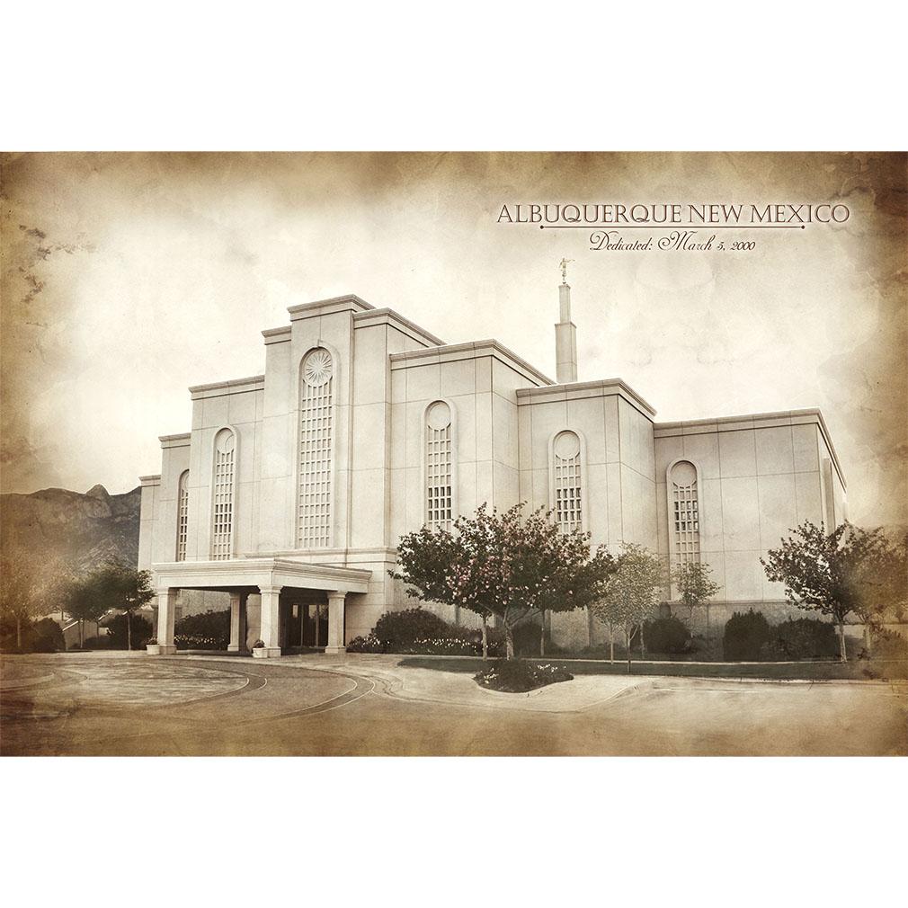 Albuquerque Temple - Vintage  - LDP-VTA-ABQ