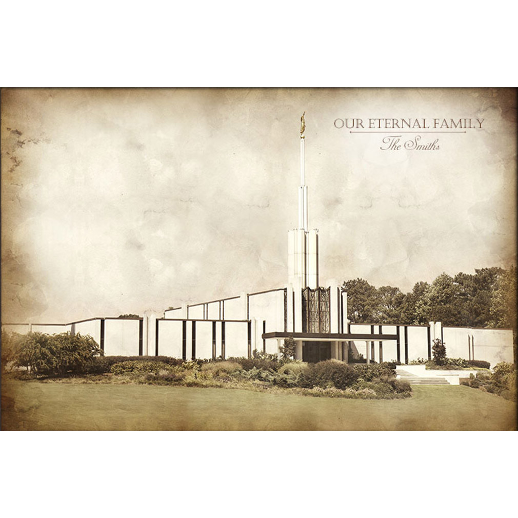 Atlanta Temple - Vintage - LDP-VTA-ATL