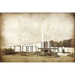 Atlanta Temple - Vintage