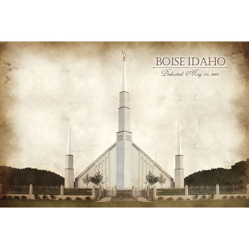 Boise Temple - Vintage  - LDP-VTA-BOI